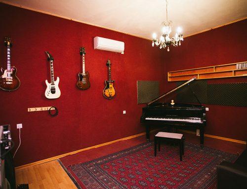 פסנתר כנף : אולפן הקלטות : אולפני הקלטות – אולפני סטורם
