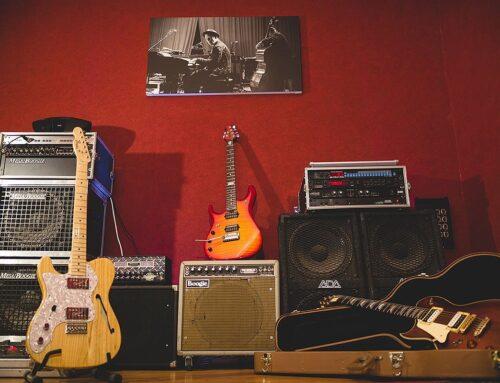 גיטרה 3 : אולפן הקלטות : אולפני הקלטות – אולפני סטורם